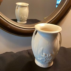 McCoy pottery vase, vintage